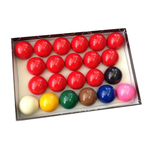 "Economy Full Size Snooker Balls - 2-1/16"" (52.4mm)"