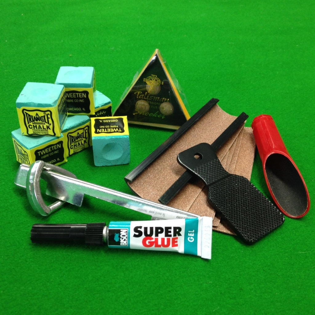 7 Piece Talisman Pro Cue Tip Accessory Kit - Billiards Boutique - 1