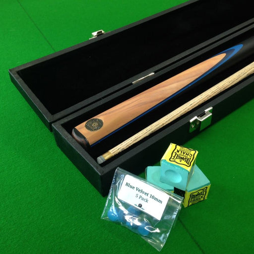 Cannon Sapphire 3/4 Jointed Snooker Cue and Peradon Attache Case Package