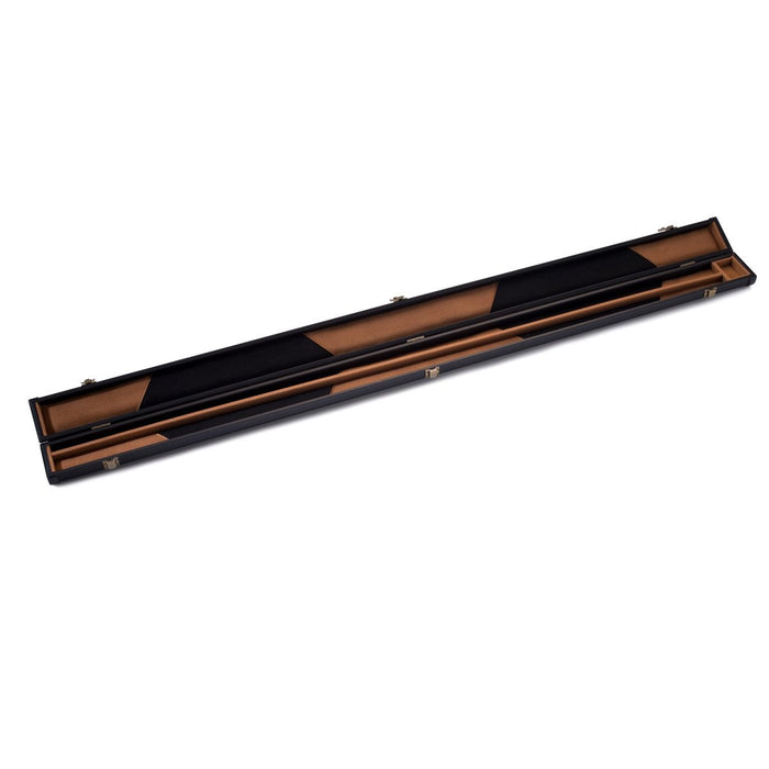Peradon Black Clubman Cue Case - 3/4 Jointed Cues
