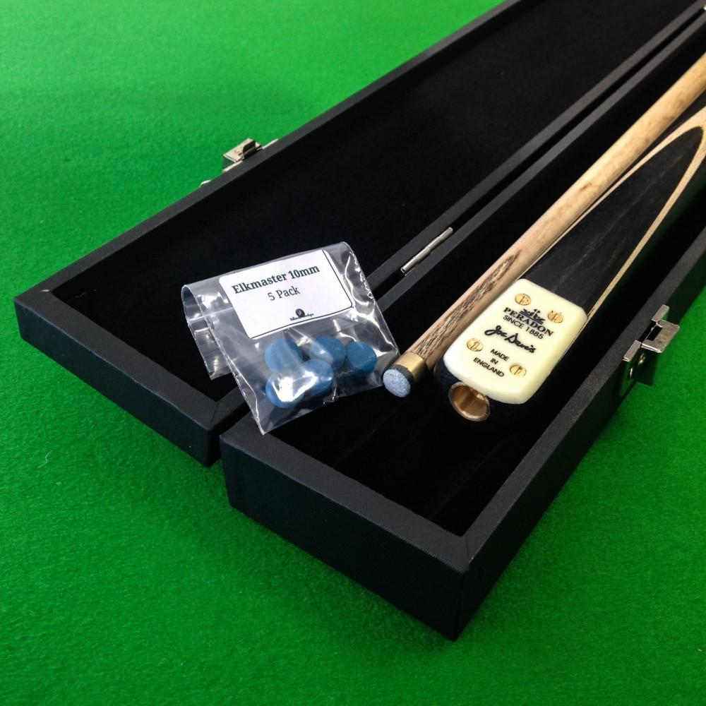 Peradon Joe Davis 2 Piece Snooker Cue and Attache Cue Case Package - Billiards Boutique - 1