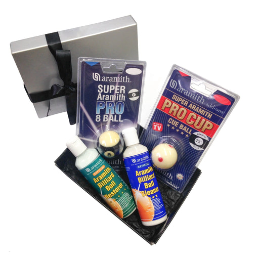 Super Aramith 8 Ball Pool Gift Hamper