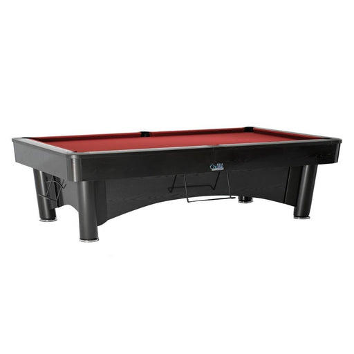 SAM K-Steel 2 American Pool Table - Black Labrado