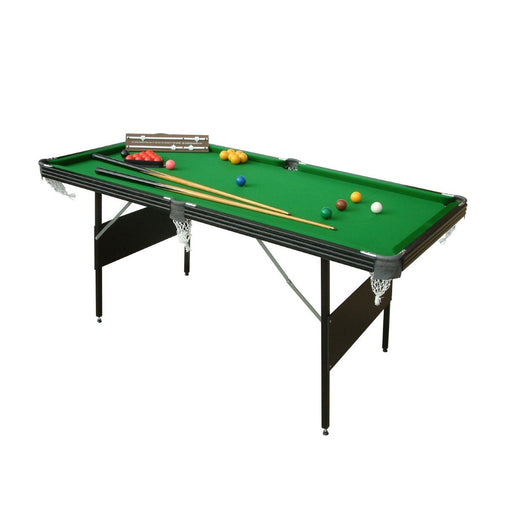 Crucible 6ft Folding Snooker or Pool Table