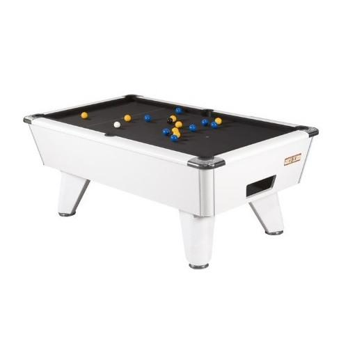 Supreme Winner Pool Table - White