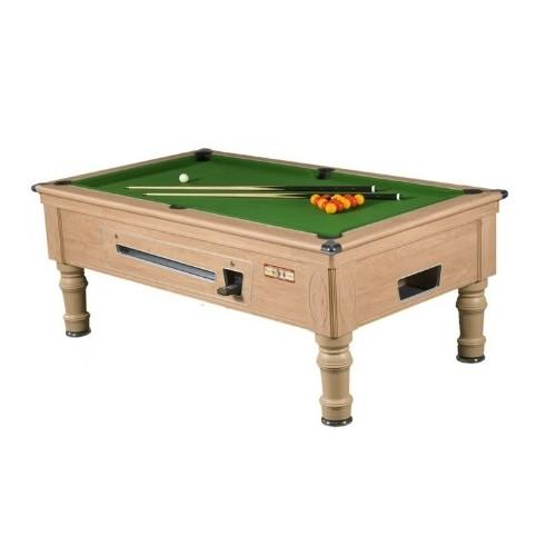 Supreme Prince Pool Table - Oak