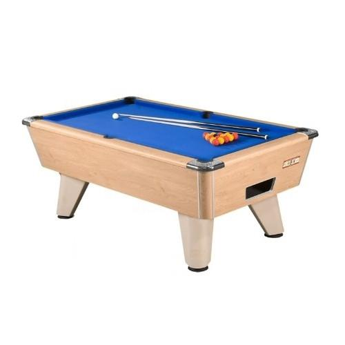Supreme Winner Pool Table - Oak