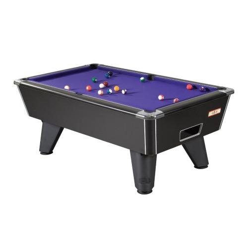 Supreme Winner Pool Table - Black