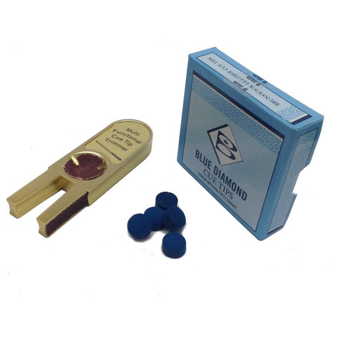 Blue Diamond Cue Tips & Golden Brick Value Pack