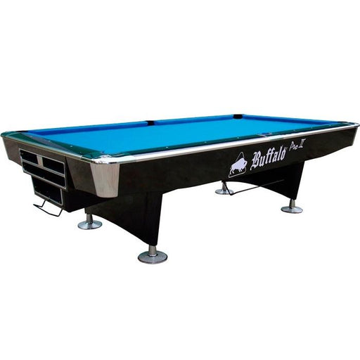 Buffalo Pro II American Pool Table Black Gloss - 9ft