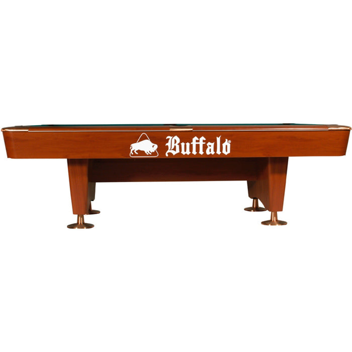 Buffalo Dominator American Pool Table - 9ft Brown
