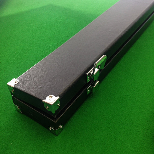 Britannia Black 3/4 Jointed Hard Cue Case