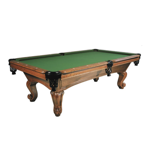 8ft Buffalo Napoleon American Pool Table - Carved Oakwood