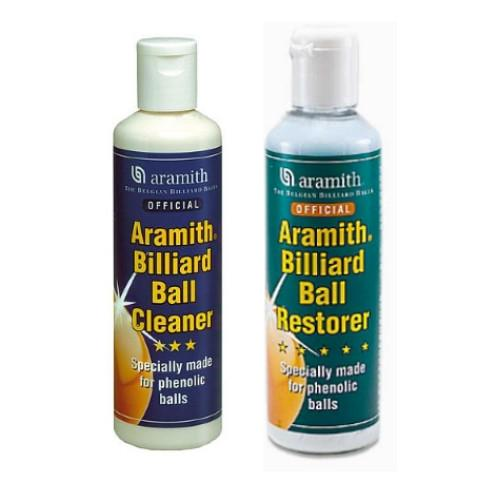 Aramith Ball Cleaner & Restorer Kit