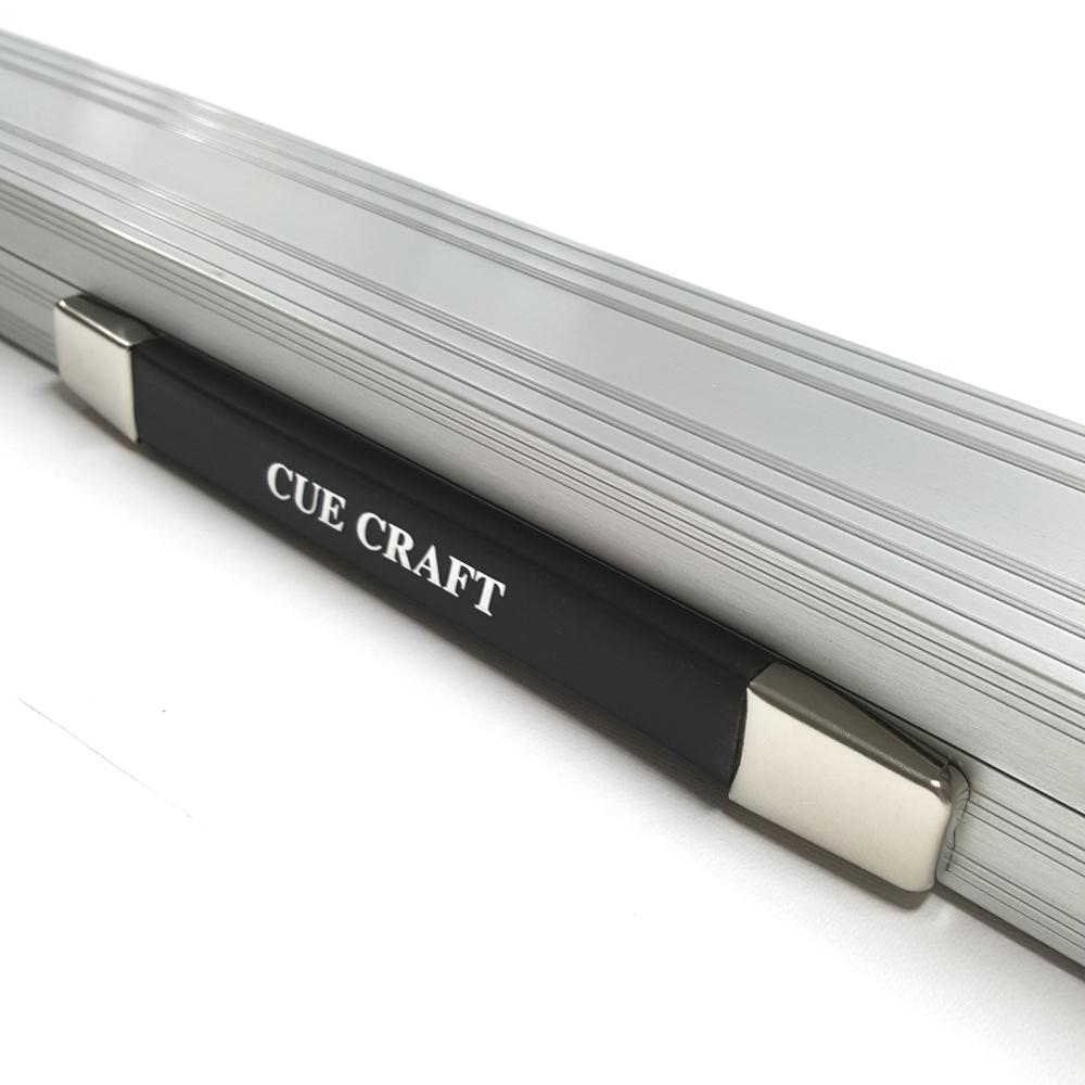 Cue Craft Superior Aluminium 3/4 Cue Case - Silver - Billiards Boutique - 1
