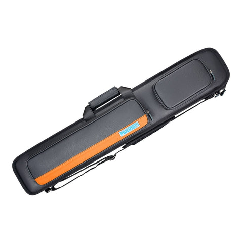 Molinari Cue Bag - 3 x 6 Black-Orange