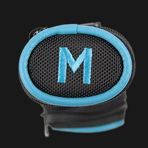 Molinari Cue Tube - 1 x 1 - Black and Cyan
