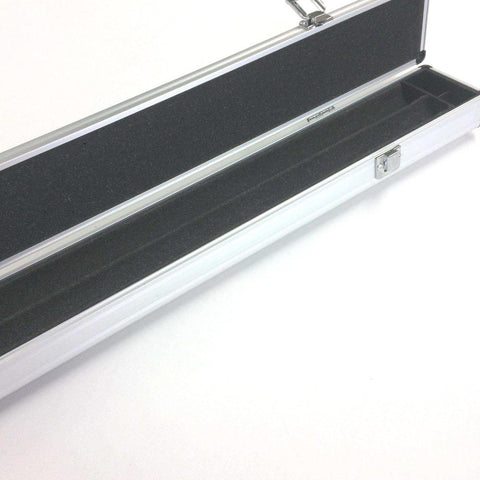 Aluminium 3/4 Snooker or Pool Cue Case - Dimple Pattern