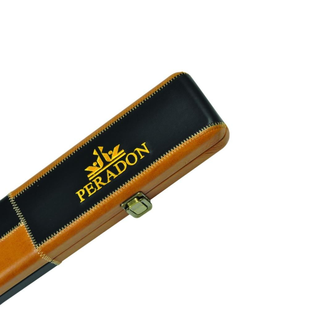 GOLD PATCHWORK Leather Effect Cue Case Holds 3//4 Jointed Cue Case