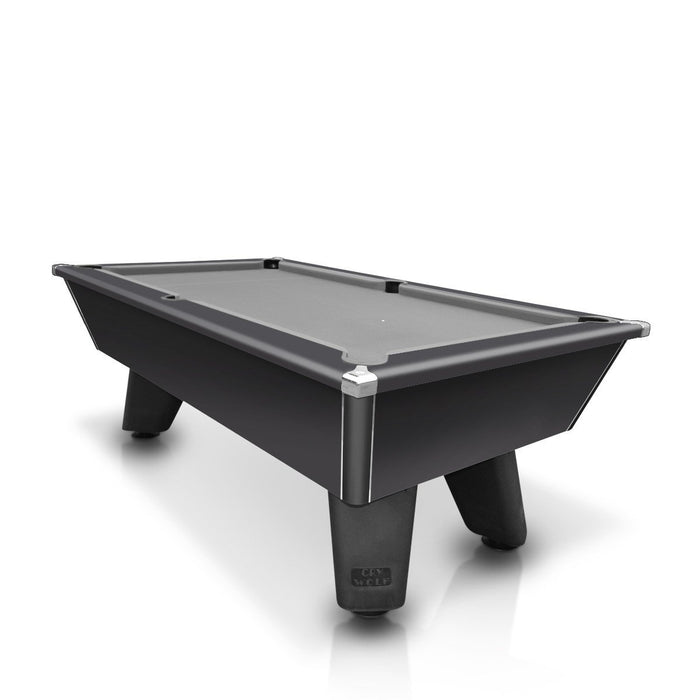 Cry Wolf 7ft English Pool Table - Black