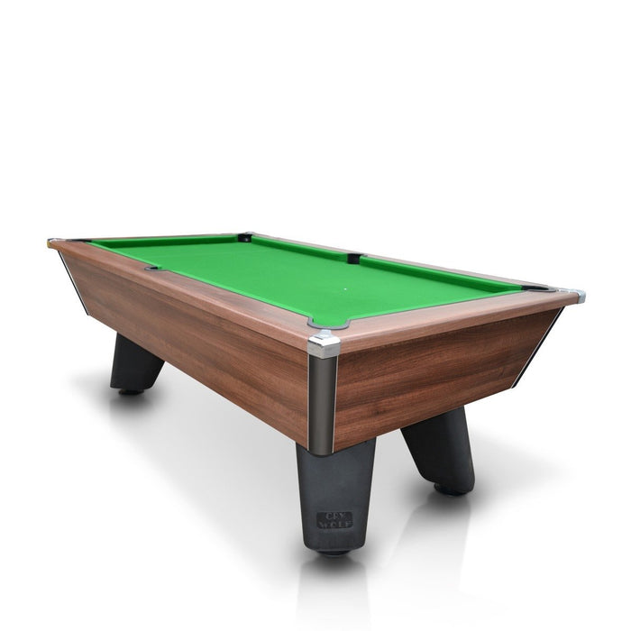 Cry Wolf 7ft English Pool Table - Walnut