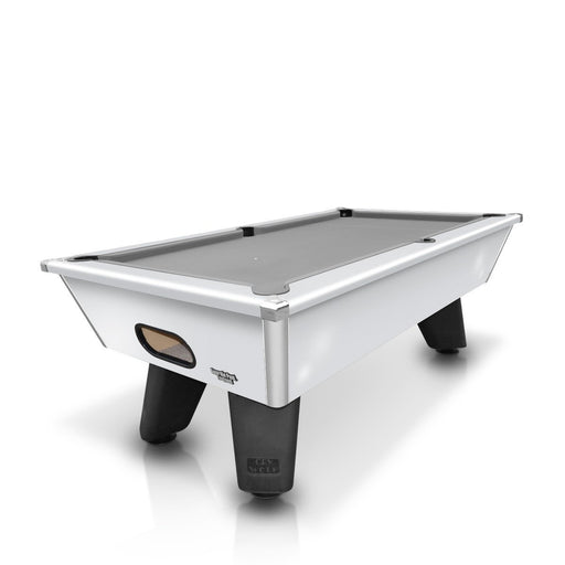 Cry Wolf 7ft English Pool Table - White
