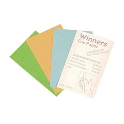 Winners Cue Papers