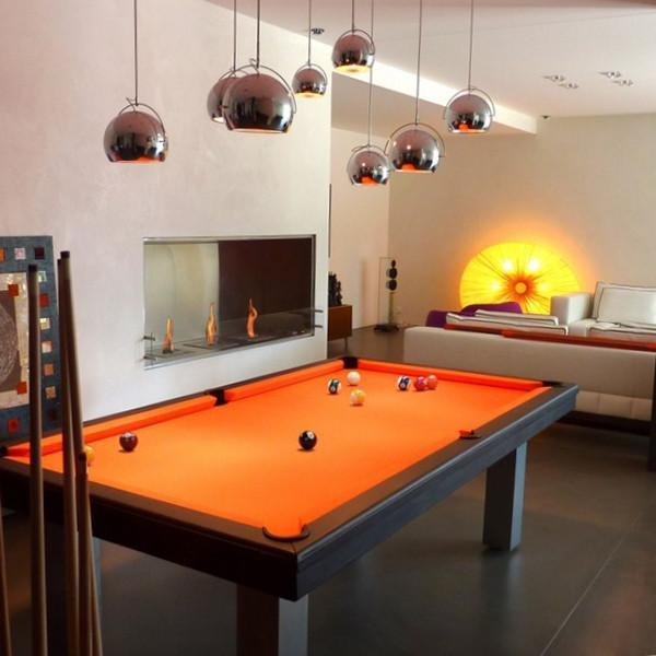 American Pool Tables - Toulet Loft American Pool Table