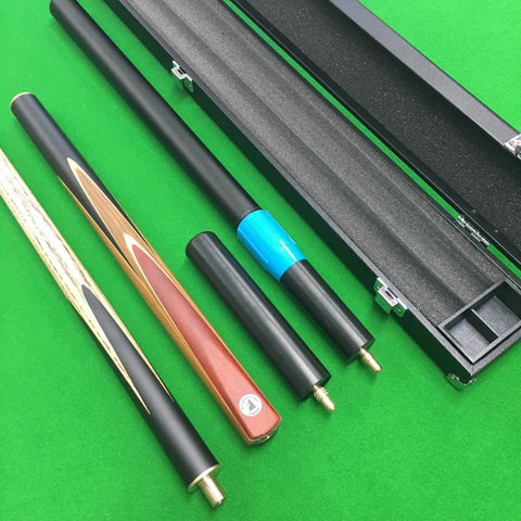Britannia Invincible 3/4 Jointed Snooker Cue and Case Bundle