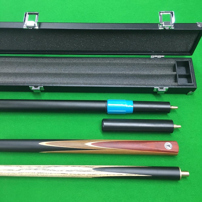 Cue & Case Packages - Britannia Invincible 3/4 Jointed Snooker Cue And Case Bundle