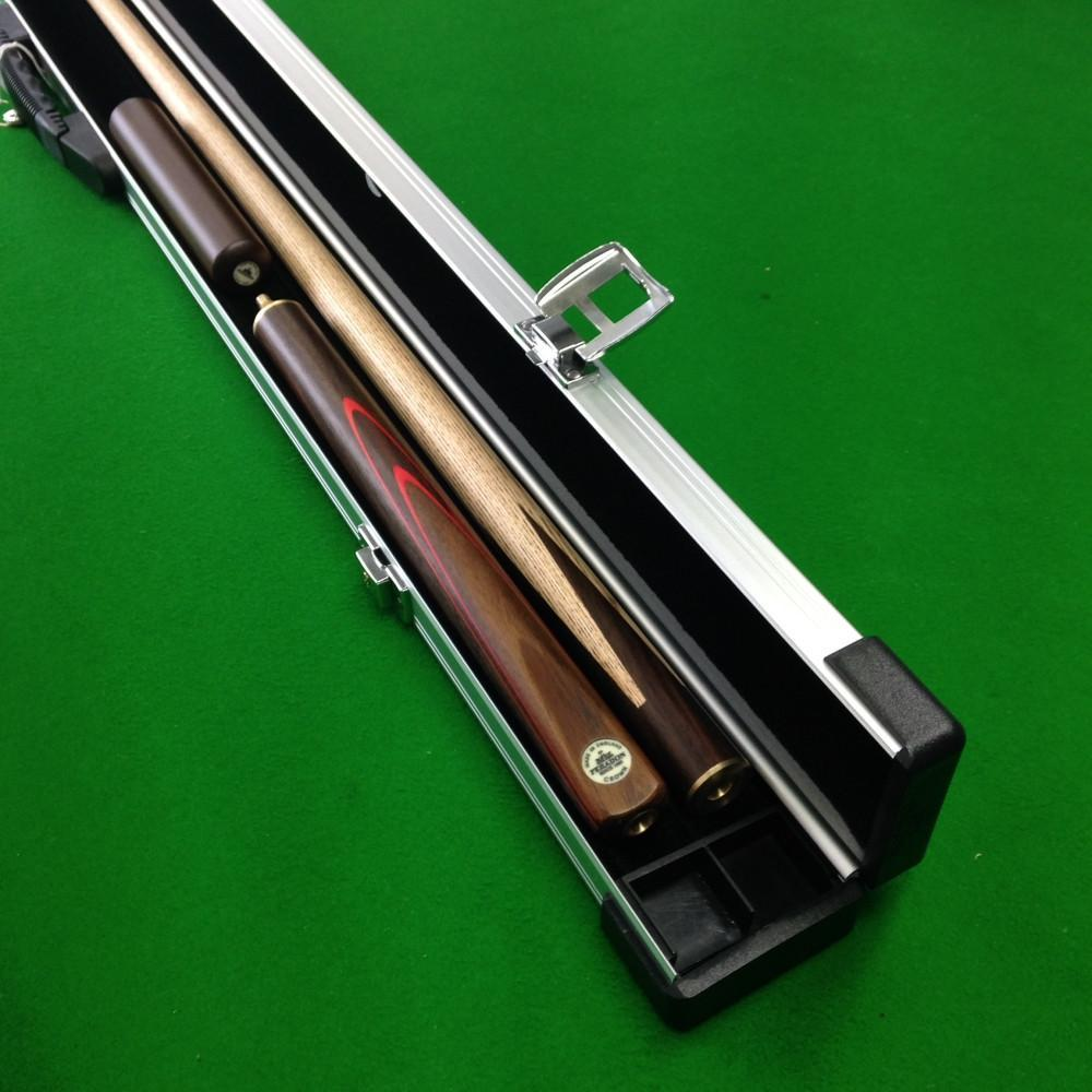 Cue & Case Packages - Peradon Crown 3/4 Jointed Snooker Cue & Aluminium Case Package
