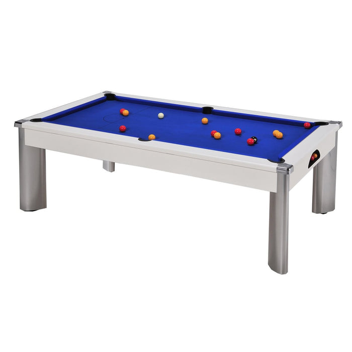 DPT Fusion Outdoor Pool Dining Table - White