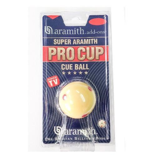English Pool Balls - Super Aramith Pro-Cup English Pool Cue Ball - 1-7/8""