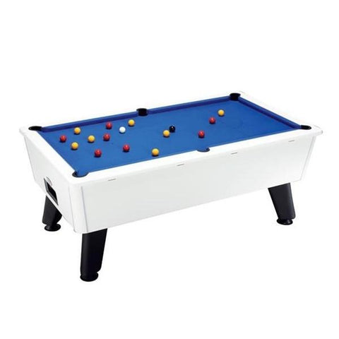 7ft DPT Outback Outdoor English Pool Table - White