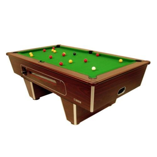 English Pool Tables - Classic Freeplay Pool Table - Mahogany