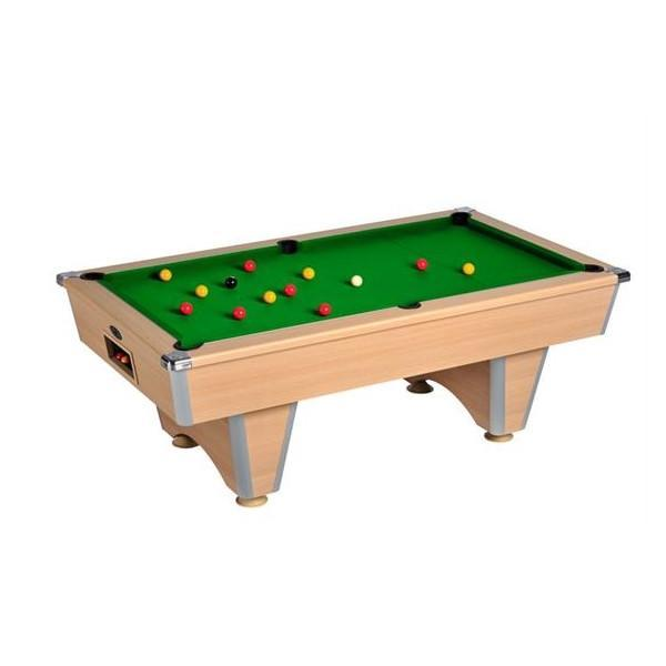 English Pool Tables - DPT Elite Freeplay English Pool Table - All Finishes