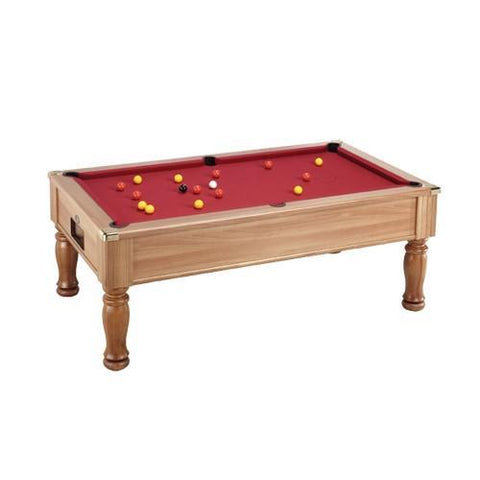 English Pool Tables - DPT Monarch Freeplay English Pool Table - All Finishes