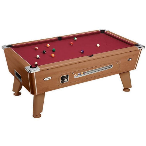 English Pool Tables - DPT Omega Coin Operated English Pool Table - All Finishes