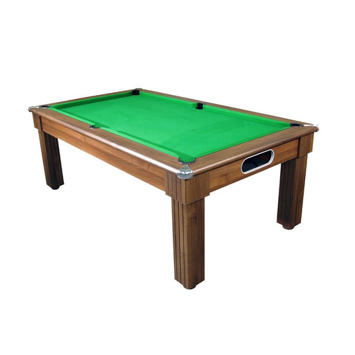 English Pool Tables - Florence Pool Dining Table - Dark Walnut