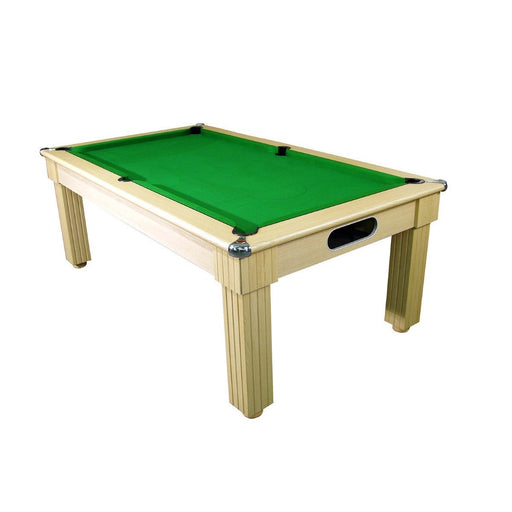 English Pool Tables - Florence Pool Dining Table - Oak