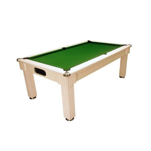 English Pool Tables - Florence Pool Dining Table - White