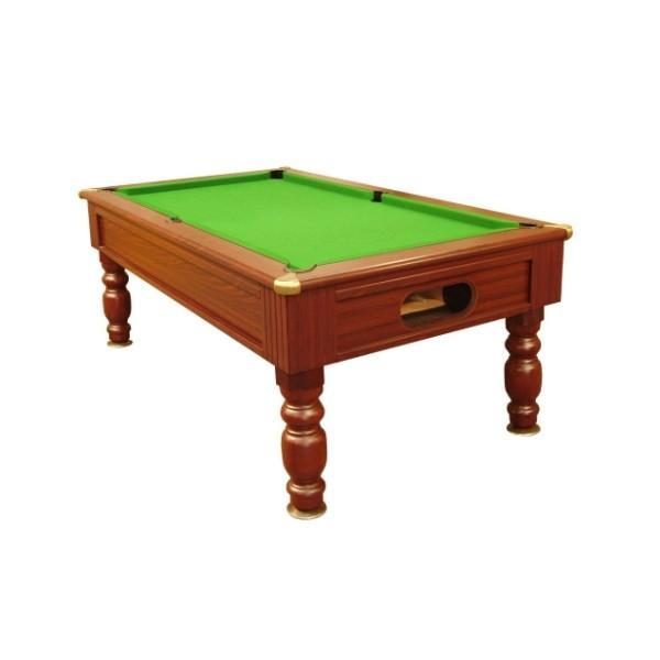 English Pool Tables - Monaco Freeplay Pool Table - Mahogany