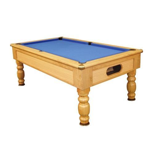 English Pool Tables - Monaco Freeplay Pool Table - Oak