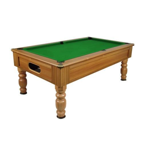 English Pool Tables - Monaco Freeplay Pool Table - Walnut