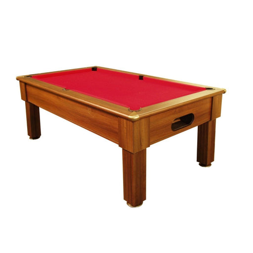English Pool Tables - Paris Pool Table - Dark Walnut