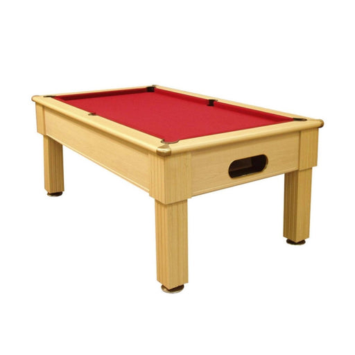 English Pool Tables - Paris Pool Table - Light Oak