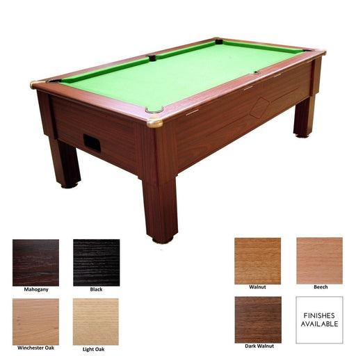 English Pool Tables - Prime Domestic Freeplay Pool Table