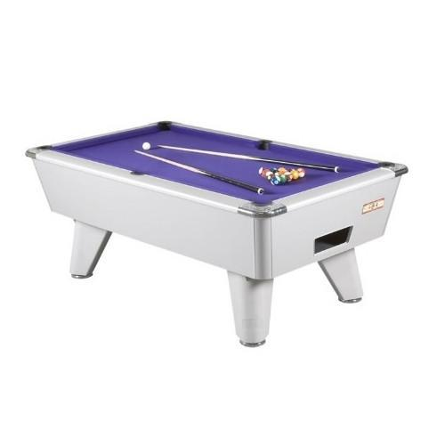 English Pool Tables - Supreme Winner Pool Table - Aluminium Look