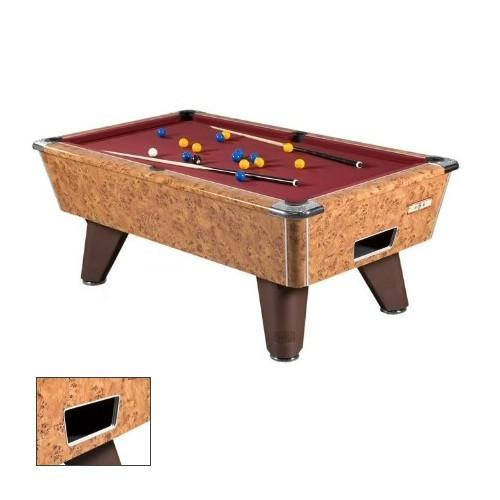 English Pool Tables - Supreme Winner Pool Table - Amberwood