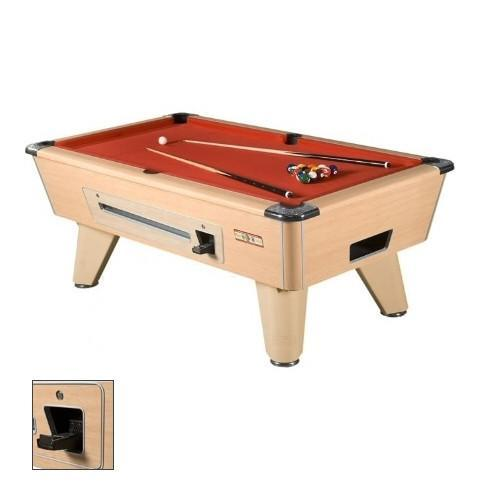Supreme Winner Pool Table Beech Free Delivery - English pool table